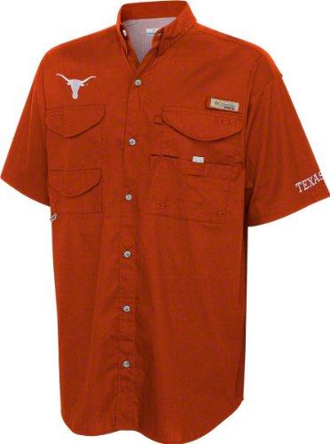 649602dca81 Amazon.com : Columbia Texas Longhorns Dark Orange Performance Fishing Gear  Bonehead Short Sleeve Shirt : Sports Fan T Shirts : Clothing