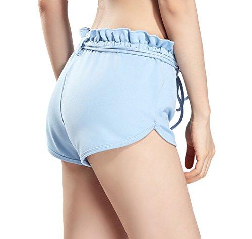 SUNDAYROSE - Pantalón corto deportivo - para mujer Azul