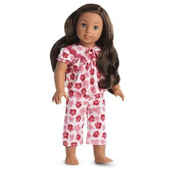 American Beforever Girl Doll Nanea Tropical Pajamas