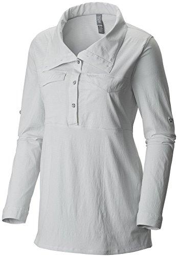 Mountain Hardwear Citypass LS Popover - Women's White ()
