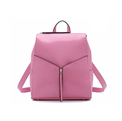 À Dos Pour Tendance Polyvalent Casual Femme Simple Coréen Pink Élégant Sac Mode Ajlbt Main wfCtqUn