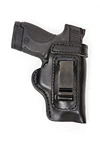 Kahr PM9 PM 40 Pro Carry HD IWB Leather Conceal Carry Holster Black