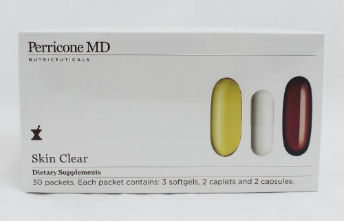 Perricone MD Skin Clear Dietary Supplement 30 pk by Perricone MD