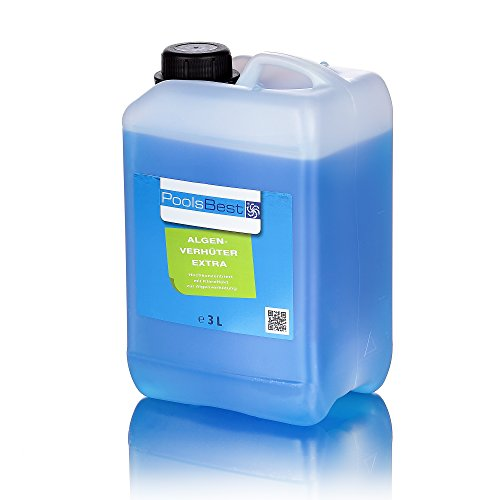 3L - PoolsBest® Algenverhüter extra - hochkonzentriert & schaumfrei
