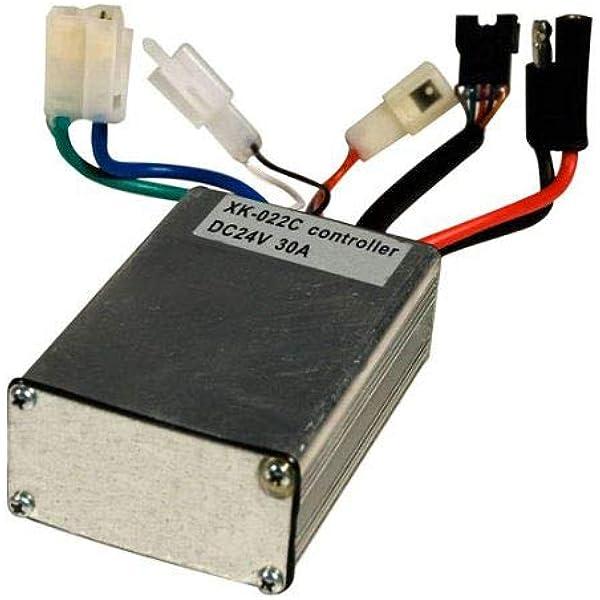 [SCHEMATICS_4PO]  Amazon.com: 24 Volt 30 Amp Controller - with 5 Pin Throttle Connector for  Currie - Schwinn S500 - Ezip E400 / E500 / E750 and Ezip E900. High  Performance 24V Control Module | 24 Volt Scooter Wire Diagram |  | Amazon.com