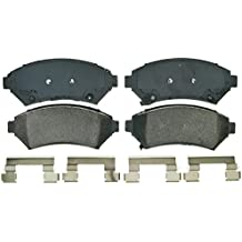 Wagner QuickStop ZD699 Ceramic Disc Pad Set Includes Pad Installation Hardware, Front