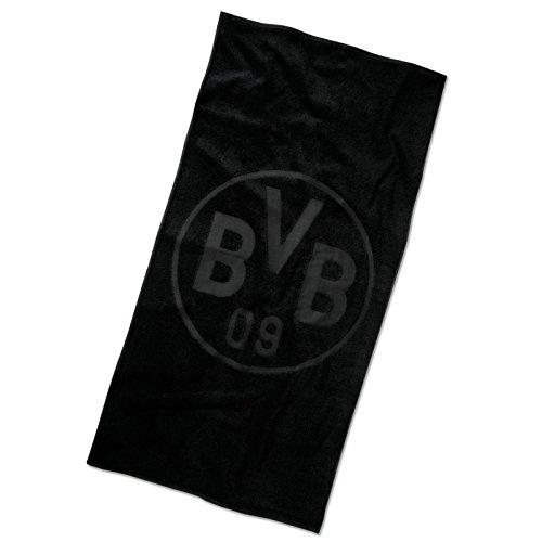 BVB-Badetuch Emblem schwarz one size