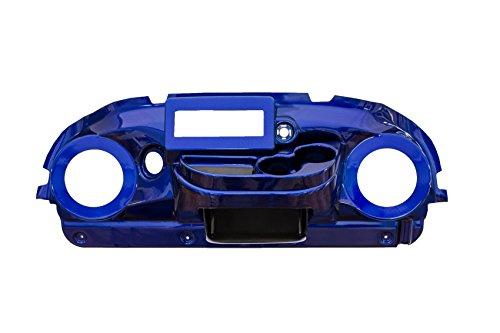 Car Club Precedent Dash (VIP PRDHBZWEZIRT Club Car Precedent Dash (Blue Zag Weave EZ Install Din Radio Cut Speaker Cut-Out 6.5 Inches))