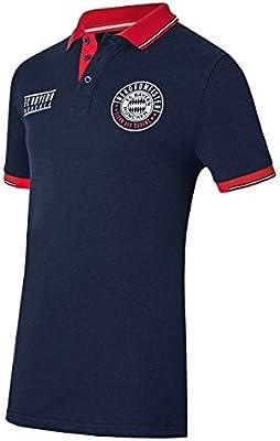 FC Bayern Múnich - Polo Compatible con Camiseta + Pegatina de ...