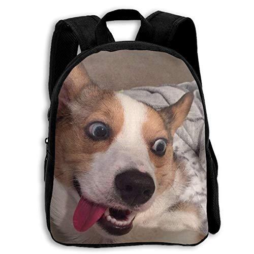 (Corgi Custom Personalized Toddler Backpacks Preschool Daybag Gift)