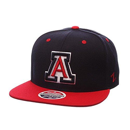 ZHATS NCAA Arizona Wildcats Men's Z11 Snapback Hat, Adjustable Size, Team Color