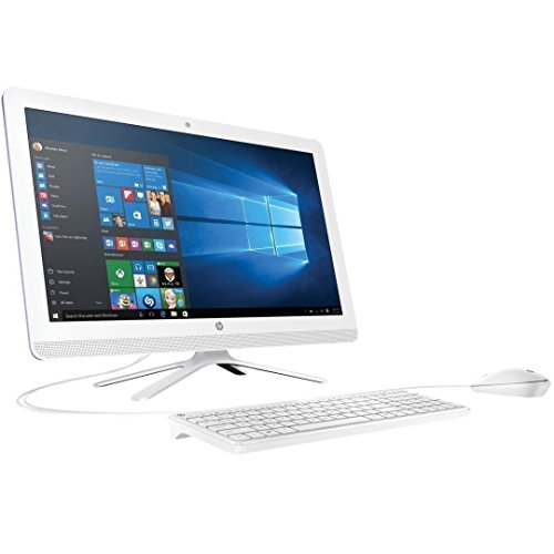 HP 21.5'' Full HD IPS WLED-Backlit All-in-One Desktop, Intel Quad-Core Pentium J3710 up to 2.64GHz, 8GB RAM, 1TB HDD 7200rpm, DVD Burner, WLAN, Bluetooth, HDMI, Webcam, Keyboard & Mouse, Win 10 by HP (Image #1)
