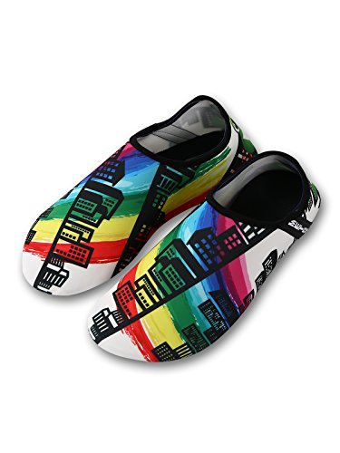 Soft Womens Dry Shoes Mens Barefoot and Super Yoga Beach Zando Aqua Socks Quick 04 for Shoes Swimming Water Surf vq0nd