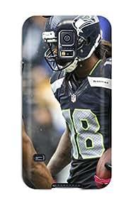 DanRobertse Premium Protective Hard Case For Galaxy S5- Nice Design - Seattleeahawks Q