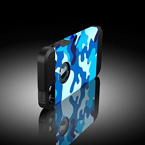 Mxnet Camouflage Pattern PC + TPU Bunte Rüstung Hard Case für iPhone 5 rutschsicher Telefon-Kasten ( SKU : S-IP5G-1178C )