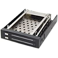 Dual Bay Trayless Mobile Rack for Two 2.5 SATA III Drive, SY-MRA25008