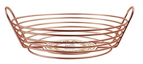 Clever Home Heavy Gauge Antique Copper Kitchen Accessories (Fruit and Vegetable Basket)