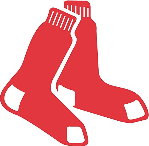 skyhighprint - Boston Red Sox MLB Baseball Sport Decor Vinyl Print Sticker 12'' X 12'' ()