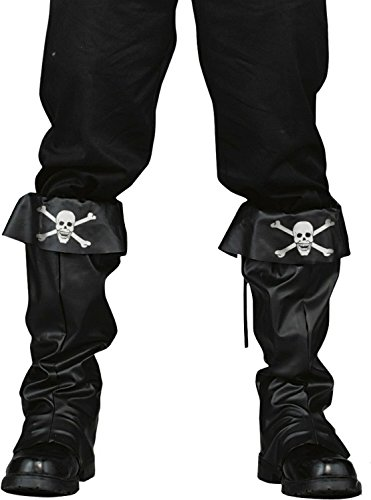 Fun World Pirate Boot Covers for Halloween, School