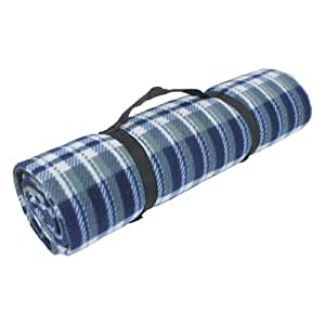Yellowstone Jumbo Travel Rug - Blue, 150x130 cm