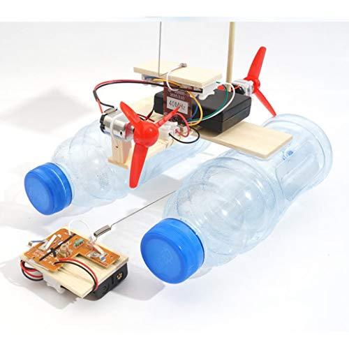 B Blesiya Modelo de Barco de Turbina de Viento Teledirigido DIY Ciencia Juguetes Educativos: Amazon.es: Juguetes y juegos