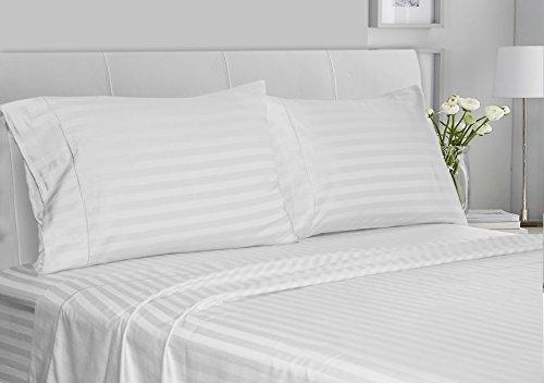 White Stripe Pillowcase Set - 9