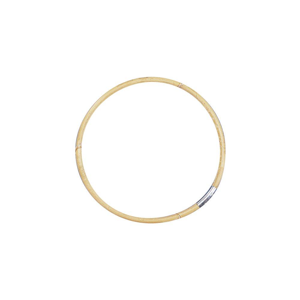 Rayher Hobby 6402300 Bambus-Taschengriffe, 20 cm Durchmesser