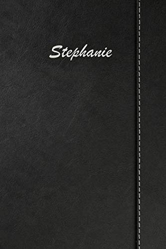 (Stephanie: Blank Cookbook Recipes & Notes featuring 120 pages 6