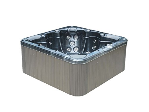 Ease spas by Direct-spa Model M-374D, 5 adults, 47 jets (Midnight opal) (Opal Jet)