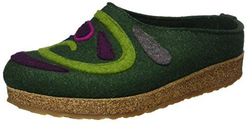 Adulto – Verde Haflinger 35 Unisex Pantofole Jette Grizzly Eibe PTwqIFX