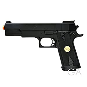 BBTac Airsoft Pistol Handgun Government .45 1911 Spring Loaded Gun