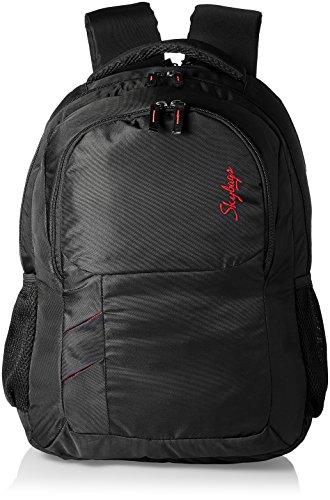 Skybags Fox Black Casual Backpacks (BPFOXBLK)