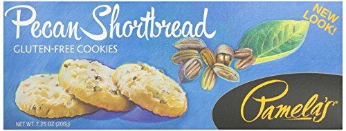 - Pamela's Products, Pecan Shortbread Cookies, 7.25 oz