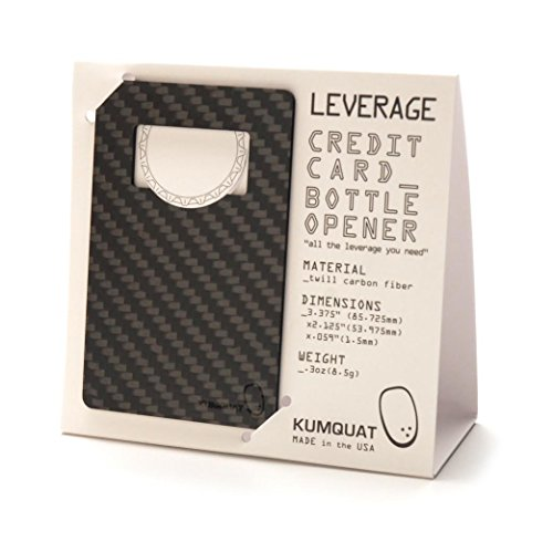 Classic Leverage Carbon Fiber Bottle Opener (Bottle Opener Carbon compare prices)