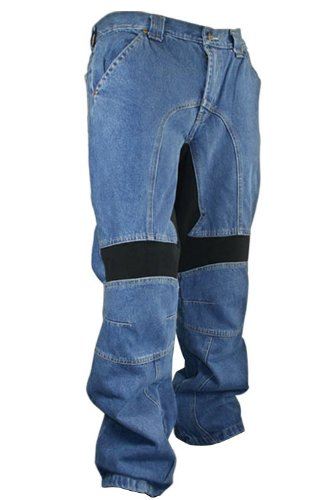 Blue Denim Motorcycle Pant - 6