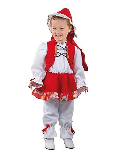 DISBACANAL Disfraz Caperucita roja bebé - Único, 12 Meses: Amazon ...