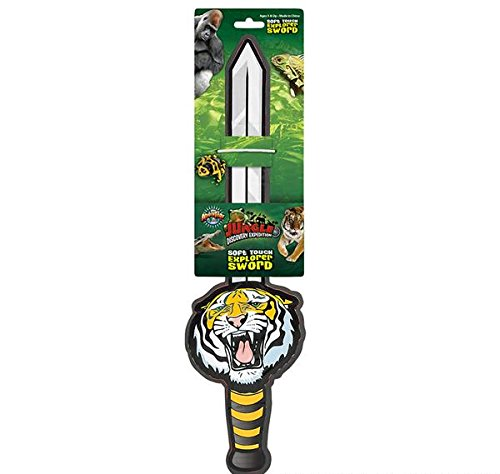 18'' TIGER EXPLORER SWORD, Case of 48 by DollarItemDirect