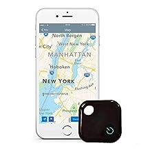 Ivishow (Gen 2) Smart Key Finder Anti-lost Tag, Phone Finder with Bluetooth Remote Control, Mini GPS Locator Tracking Device [0-30M Anti-Theft Burglar Alarms w/ Recorder]
