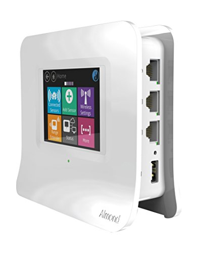 Securifi Almond 3 (White): Complete Smart Home Wi-Fi system - Easy to Set up Dual Band Gigabit Wi-Fi Router, Built-in Security Siren, Universally Compatible with modems - Works with Alexa by Securifi