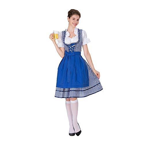 YIBEN Halloween German Beer Carnival Beer Sister Uniform,