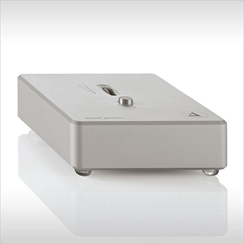 Clearaudio Smart Phono v2 MM/MC Phono Preamp with adjustable gain by Clearaudio