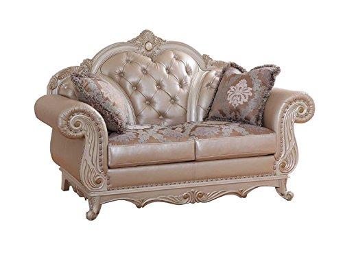 Meridian Furniture Marquee Pearl Love Seat