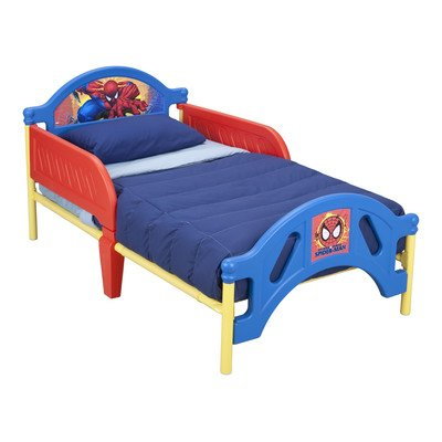 Delta Enterprise Spiderman Toddler - Spiderman Toddler Bed
