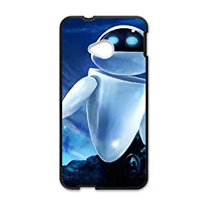 Wall E HTC One M7 Cell Phone Case Black Q9240316