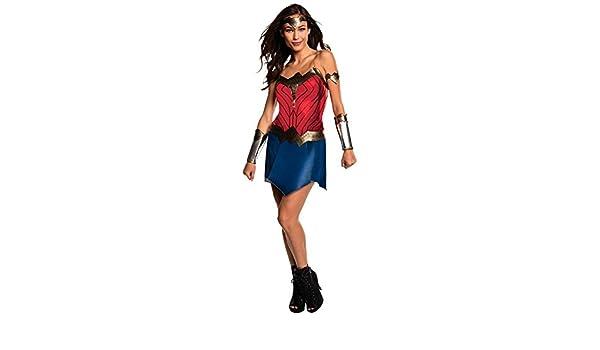 Disfraz Wonder Woman Película mujer - Único, M: Amazon.es: Juguetes y juegos