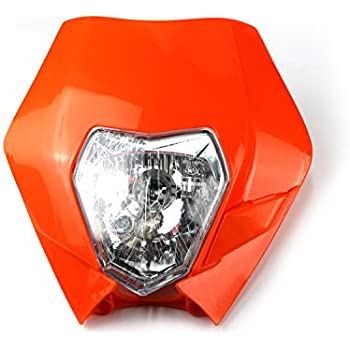 Motorcycle Head Lights Headlights Headlamp With LED Turning Light For KTM  Kawasaki Honda Yamaha Suzuki Enduro Supermoto Dirt Pit Bike Motocross