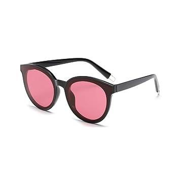 LJ2 Gafas de Sol de Moda de Color Color Plano para Mujer ...
