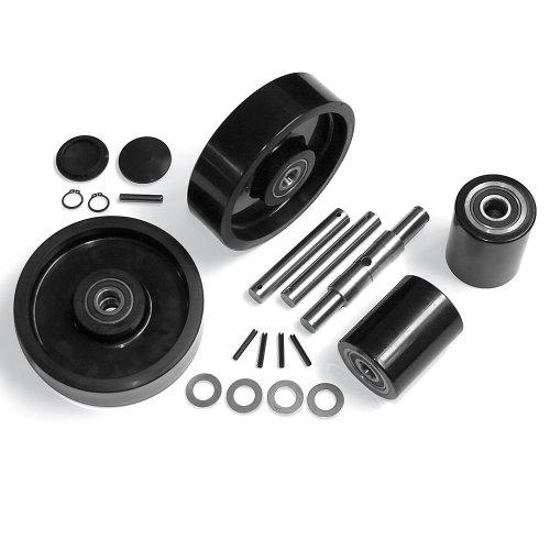 Manual Pallet Truck Complete Wheel Kits - For Lift Rite/Big Joe Model No. L50 ()