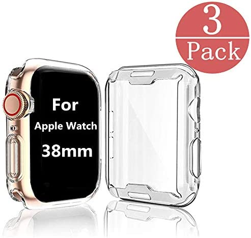 [3-Pack] Case Compatible Apple Watch Series 2...