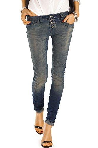j41f Bestyledberlin boyfriend jeans jeans baggy donna Blu da rYwqFr